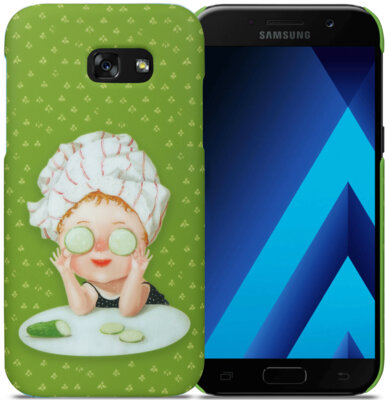 Чехол Avatti Gapchinska PC Samsung A5 2017 A520 Cucumbers 2