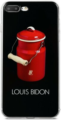 Чехол Avatti B&Z PC iPhone 7 Plus Louis Bidon Black 1