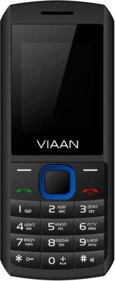 Мобільний телефон Viaan V182 Black-Blue 1