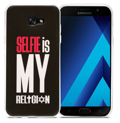 Чехол Utty B&Z Ultra Thin Samsung A7 A720 Selfie Religion Black 1