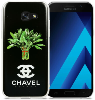 Чохол Avatti B&Z PC Samsung A5(2017) A520 Chavel Black 2