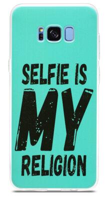 Чохол Utty B&Z Ultra Thin Samsung S8 G955 Selfie Religion turquoise 1