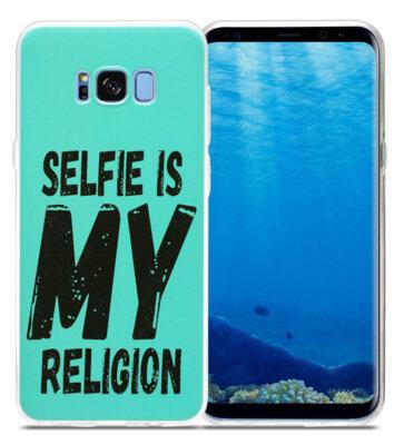 Чохол Utty B&Z Ultra Thin Samsung S8 G955 Selfie Religion turquoise 2