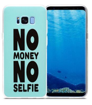 Чехол Utty B&Z Ultra Thin Samsung S8 G955 Self Money Blue 2