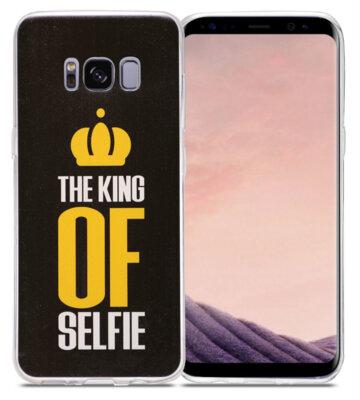 Чехол Utty B&Z Ultra Thin Samsung S8 G950 King of Selfie 2