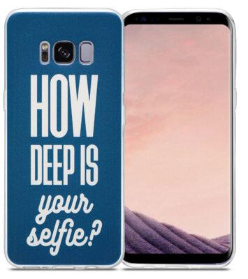 Чохол Utty B&Z Ultra Thin Samsung S8 G950 Deep Selfie blue 2