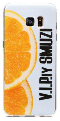 Чехол Utty B&Z Ultra Thin Samsung S7 G935 Orange 1