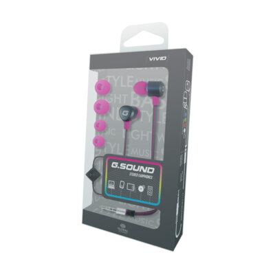 Гарнитура G.Sound C3035RdM Pink 2