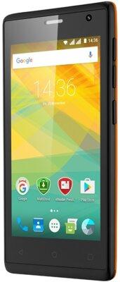 Смартфон Prestigio MultiPhone 3468 Wize OK3 Orange 4