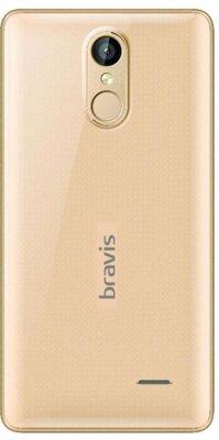 Смартфон Bravis A504 Trace Dual Sim Gold 2
