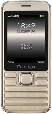 Мобильный телефон Prestigio Grace A1 1281 DS Gold 1