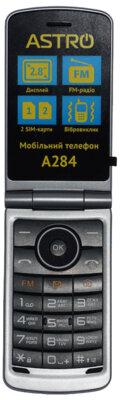 Мобільний телефон Astro A284 Black 3