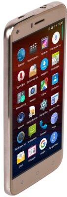 Смартфон Bravis A506 Crystal Gold 7