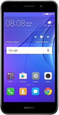 Смартфон Huawei Y3 2017 Dual Sim Grey 1