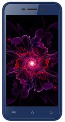 Смартфон Nomi i5012 EVO M2 Blue 1