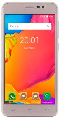 Смартфон Ergo A503 Optima Dual Sim Pure Gold 1