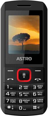 Мобільний телефон Astro A170 Black/Red 1