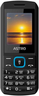 Мобильный телефон Astro A170 Black/Вlue 1
