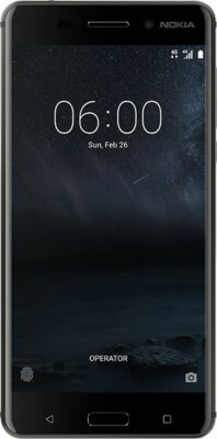 Смартфон Nokia 6 DS Matte Black 1