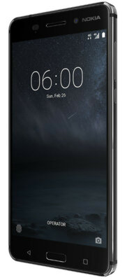Смартфон Nokia 6 DS Matte Black 5