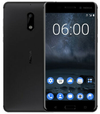 Смартфон Nokia 6 DS Matte Black 6