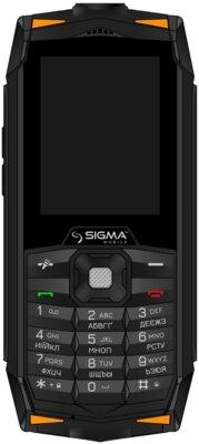 Мобильный телефон Sigma X-treme DR68 Black-Orange 2