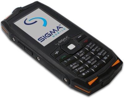 Мобильный телефон Sigma X-treme DR68 Black-Orange 4