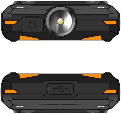 Мобильный телефон Sigma X-treme DR68 Black-Orange 7