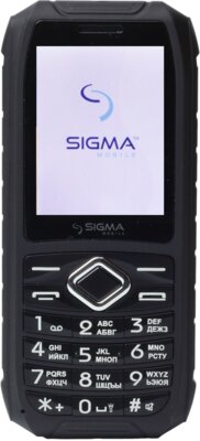 Мобильный телефон Sigma Х-treme IO67 Black 1
