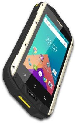 Смартфон Sigma X-treme PQ17 Black-Yellow 4