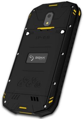 Смартфон Sigma X-treme PQ17 Black-Yellow 5