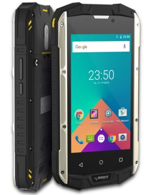 Смартфон Sigma X-treme PQ17 Black-Yellow 6