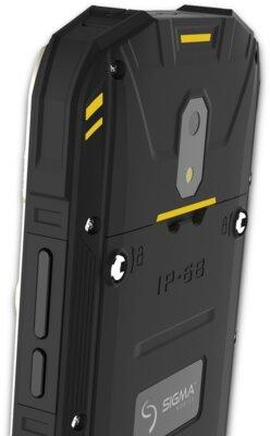 Смартфон Sigma X-treme PQ17 Black-Yellow 10