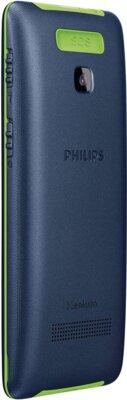 Мобильный телефон Philips Xenium E311 Dark Blue 3