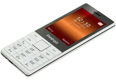 Мобільний телефон Prestigio 1285 Muze D1 Dual White 5