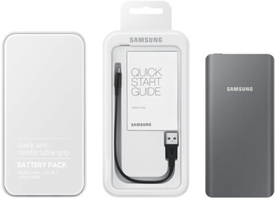 Мобильная батарея Samsung EB-P3020BSRGRU Silver/Gray 6