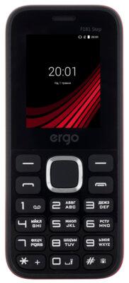 Мобильный телефон Ergo F181 Step Dual Sim Вlack 1