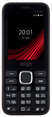 Мобильный телефон Ergo F243 Swift Dual Sim Black 1