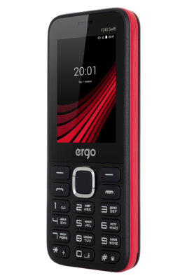 Мобильный телефон Ergo F243 Swift Dual Sim Black 6