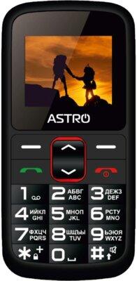 Мобильный телефон Astro A172 Black/Red 1