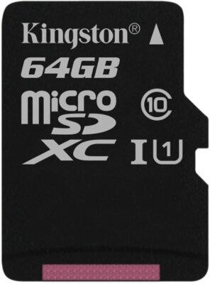 Карта пам'яті Kingston microSDXC 64GB Class 10 UHS-I SDC10G2/64GBSP 1