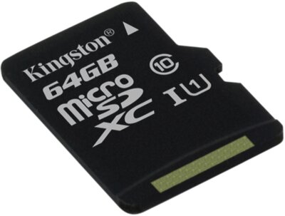 Карта пам'яті Kingston microSDXC 64GB Class 10 UHS-I SDC10G2/64GBSP 2