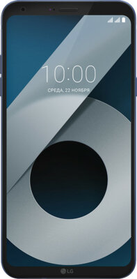 Смартфон LG Q6 (M700AN) 4GB Dual Sim Blue 1