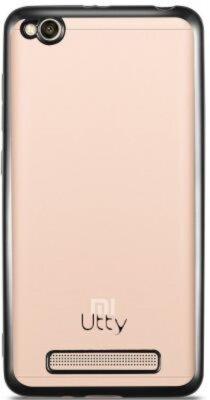Чохол Utty Electroplating TPU для Xiaomi Redmi 4A Black 1