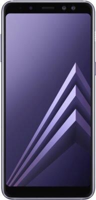 Смартфон Samsung Galaxy A8 (2018) SM-A530F Orchid Gray 1