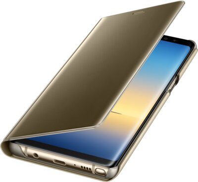 Чехол Samsung Clear View Standing Cover Gold EF-ZN950CFEGRU для Galaxy Note 8 N950 4