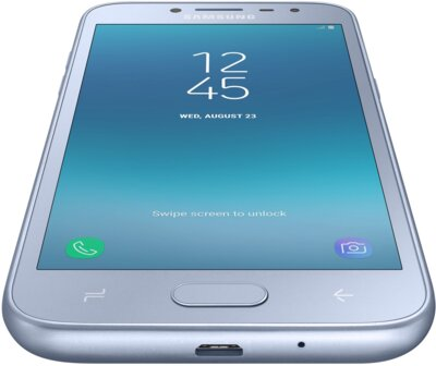 Смартфон Samsung Galaxy J2 2018 SM-J250F Silver 5