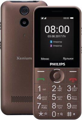 Мобільний телефон Philips Xenium E331 Brown 2