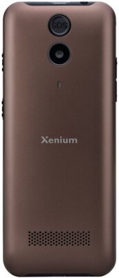 Мобільний телефон Philips Xenium E331 Brown 3