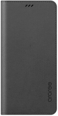 Чохол Araree Flip Wallet Leather Cover Charcoal Gray для Galaxy А8 (2018) A530 1